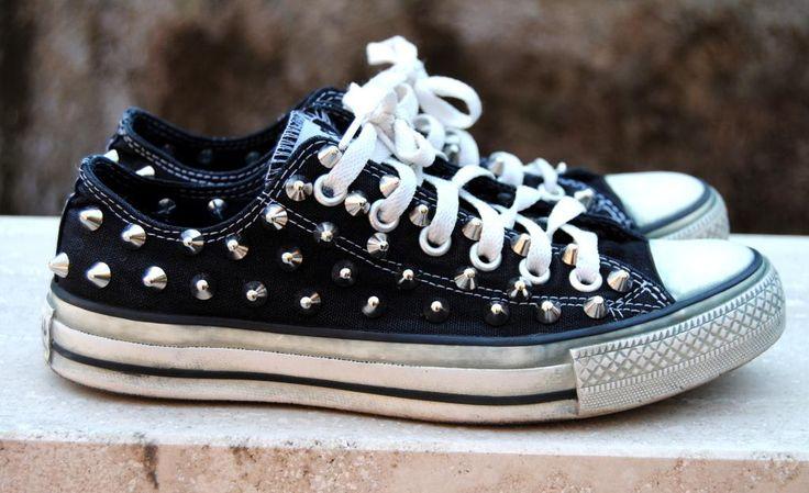 SUNDAY TREND: Studded Converse now on http://fashionoodles.wordpress.com