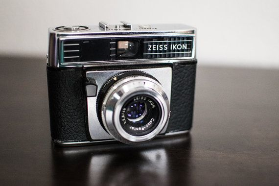 Zeiss Ikon Vintage Film Camera by CheerfulCollections on Etsy