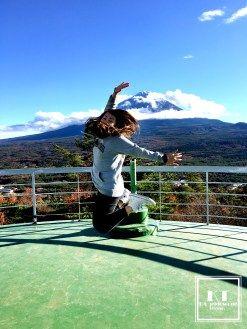 Travel Japan Yamanashi Fuji Five Lakes 日本 山梨 紅葉展望台レストハウス_04
