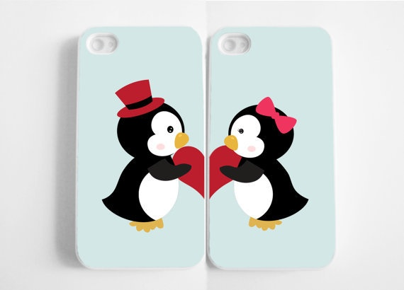 These are Seriously the perfect iPhone cases for me and my BF! We Love Penguins!!!