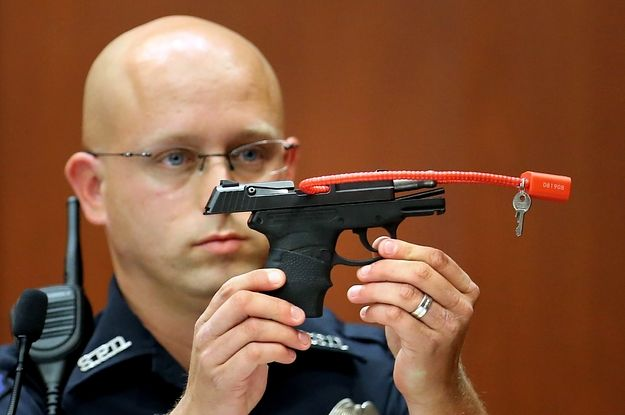 George Zimmerman's Auction Of Gun Used To Kill Trayvon Martin Is Back On - BuzzFeed News