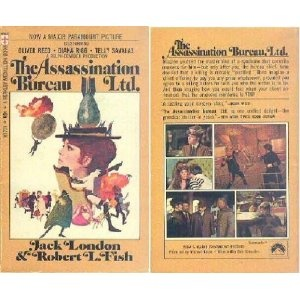 Assassination Bureau, Ltd.  Later adapted for a film featuring Dianna Rigg-AKA Ms. Emma Peel.
