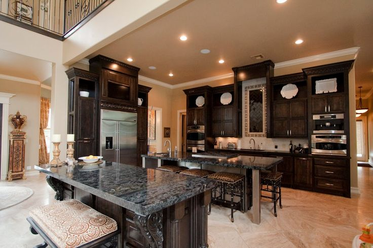 Luxury comercial residential kitchen ok real for Kitchen ideas tulsa ok