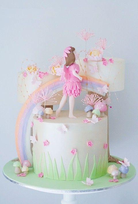 Creative Pastel Birthday Cake Ideas For Kids, Best Kids Birthday Decor Ideas #kids #food #ideas www.foodideasrecipes.com