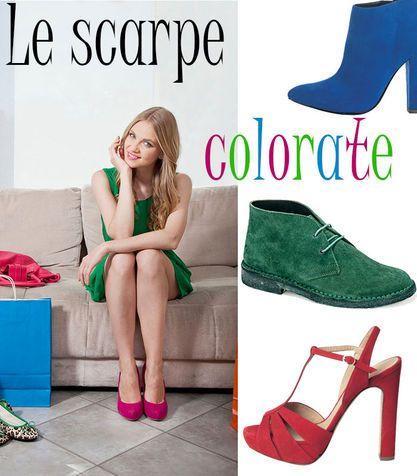 Voglio un paio di scarpe colorate. Posso?