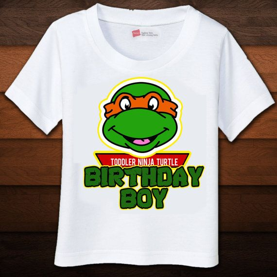 302 best party ideas teenage mutant ninja turtle images for Where can i buy ninja turtle shirts