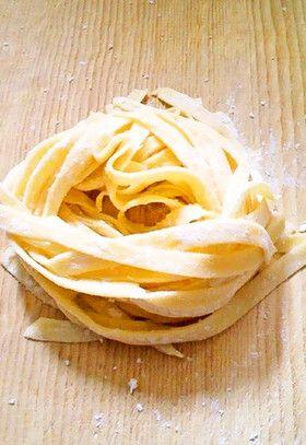 生パスタ (Knead in bread maker)