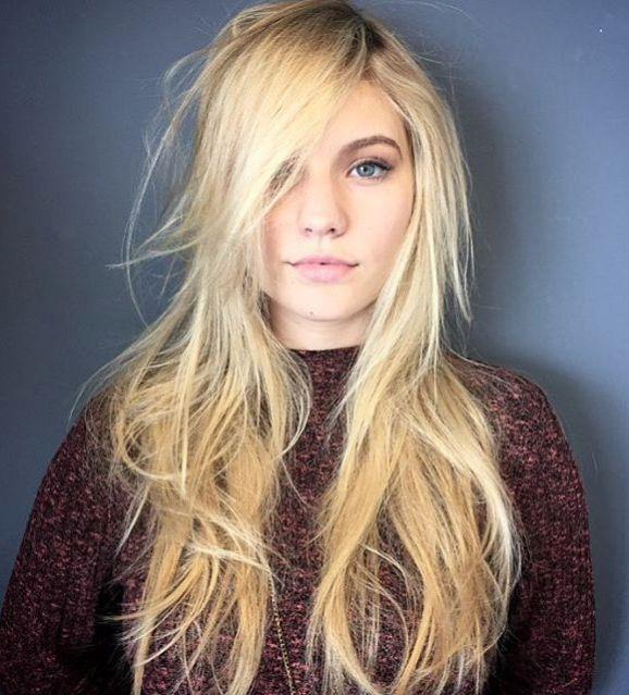 25+ Best Ideas About Long Fine Hair On Pinterest