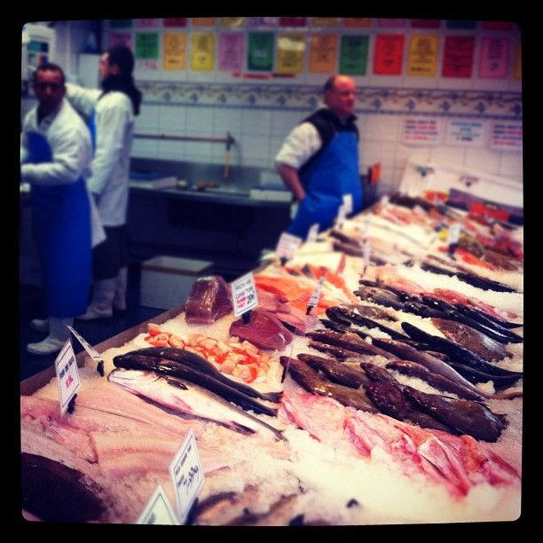 Just a little #Fish Shopping at Steve Hatt in N1
