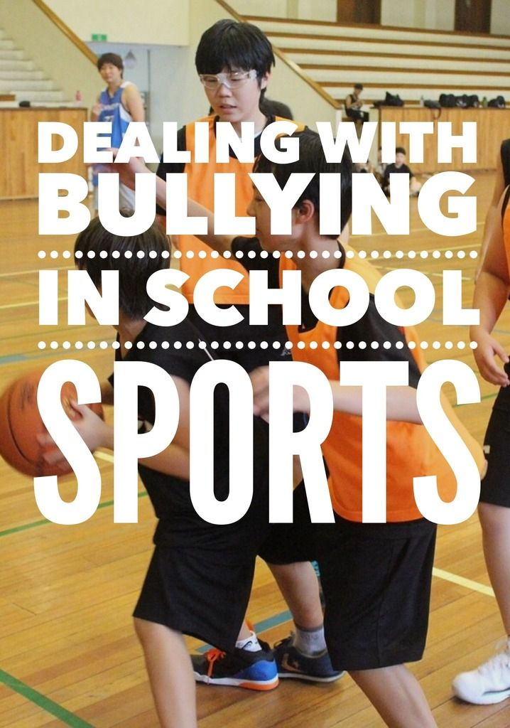 Dealing with Bullying in School Sports: Dealing with bullying in school sports is an unfortunate reality for many parents. Find out how to handle it if your child is bullied in their sports!