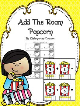 Add The Room PopcornThis Popcorn Theme Add The Room has a number on each popcorn box with a popcorn ten frame below to help students to add sums up to 10. There are 10 half page posters to copy and laminate and hang around the room. Students will take a recording sheet and clipboard and walk around the room writing the addition problem and answer on the recording sheet.Popcorn Theme Number Mats 1-10Add The Room - Pot Of GoldAdd The Room Bee Theme -DiceWizard Of Oz Count The RoomMarshmallows…