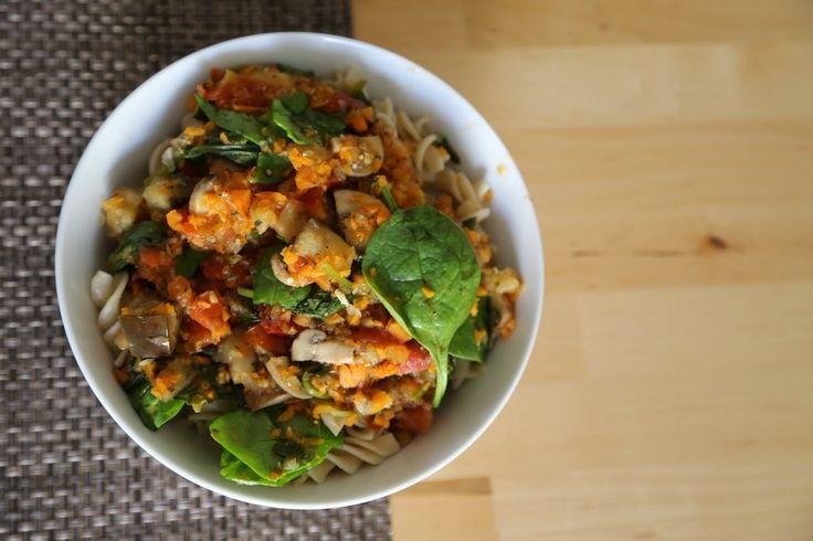 nissiax83 : Szybki obiad - makaron z warzywami