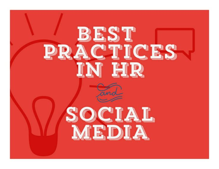 best-practices-in-hr-and-social-media by Laurie Ruettimann via Slideshare