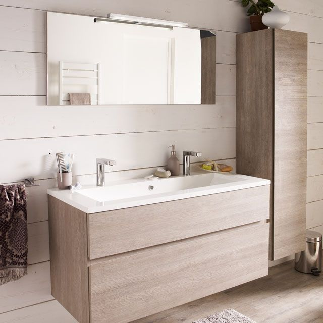 25 best ideas about double vasque on pinterest double - Meubles salle de bain castorama ...
