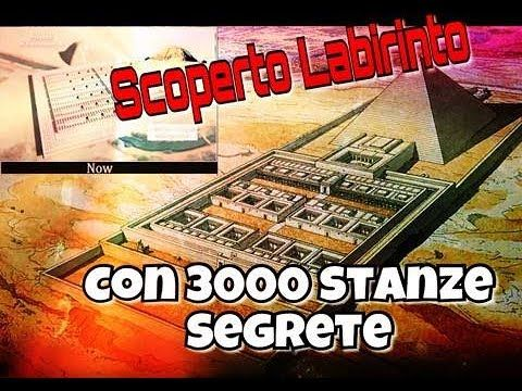 Sine.ClaV.is: Scoperto labirinto con 3000 stanze segrete