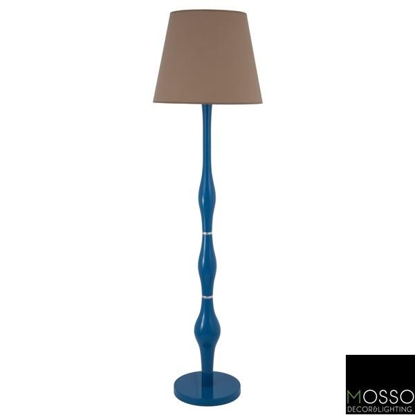 Oasis Floor Lamp (Lambader)-  Wooden Floor Lamp -Handcrafted
