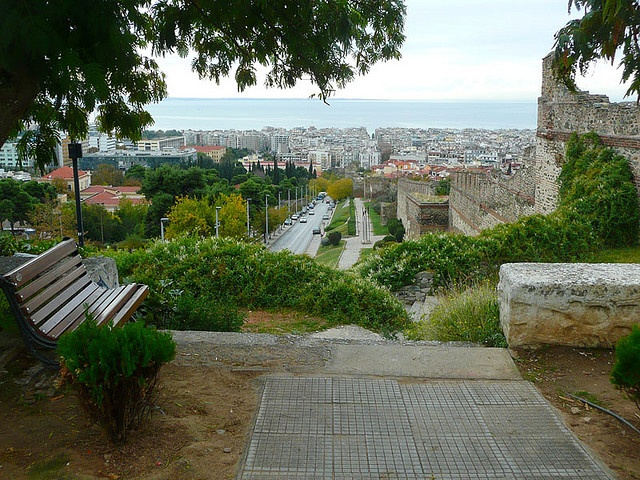 View from the old city of #Thessaloniki