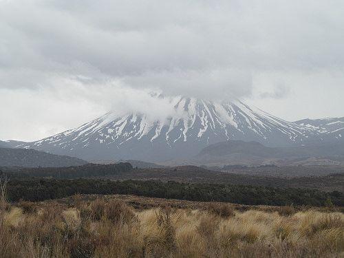 Mt ruapehu New Zealand