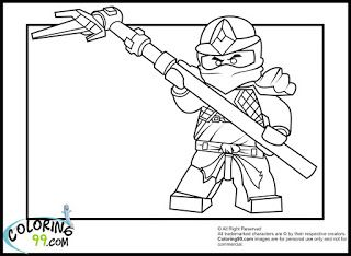 Lego Ninjago Cole Zx Coloring Pages Pictures To Color Pinterest