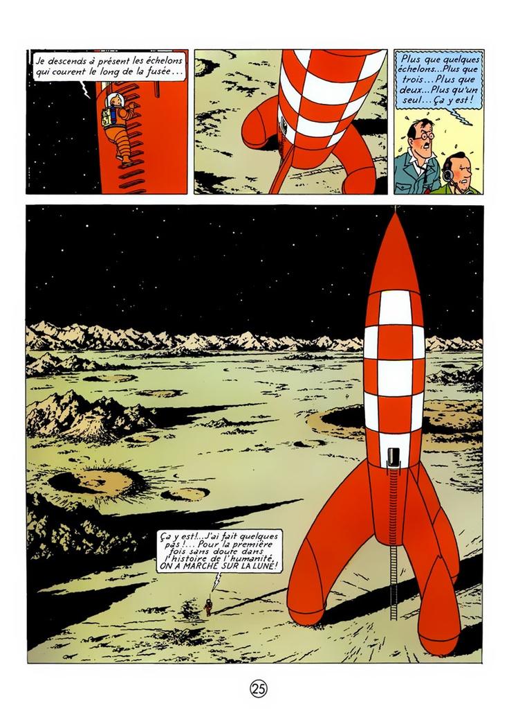 Tintin - Herge #rocket