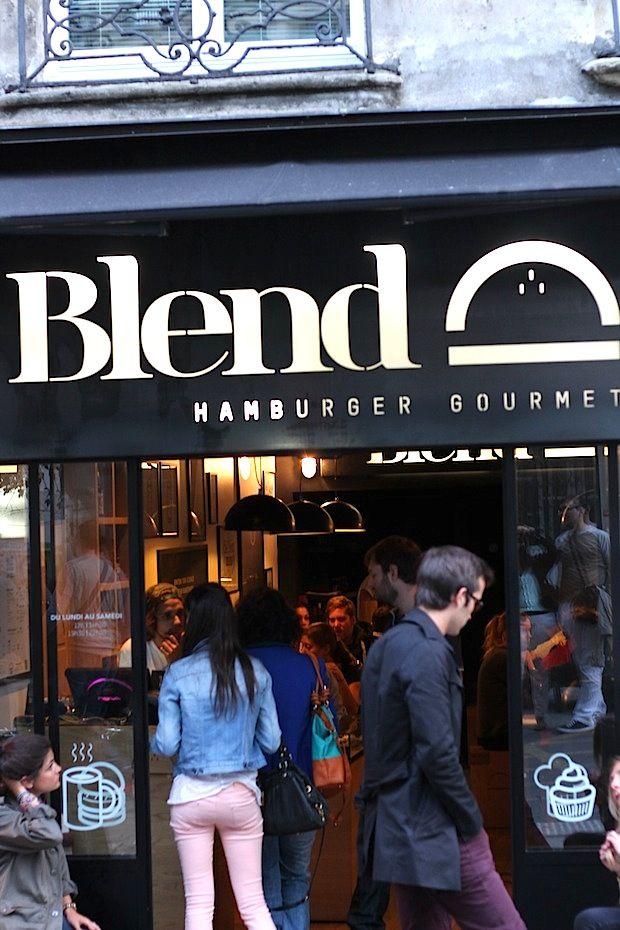 Blend - Hamburger gourmet
