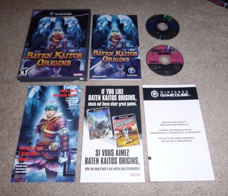 Baten Kaitos Origins CIB Complete In Box Nintendo Gamecube Great Condition!!!: $54.99 End Date: Wednesday Sep-20-2017 22:35:59 PDT Buy It…