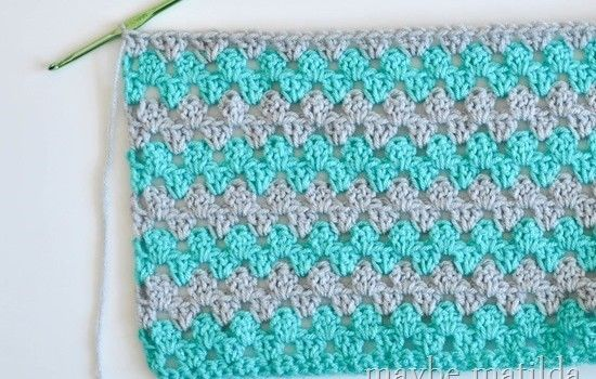 Incredibly Fast And Easy Baby Blanket Crochet Pattern Free Crochet