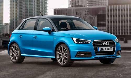 #Audi #A1sportback. Versión compacta, grande en poetencia.