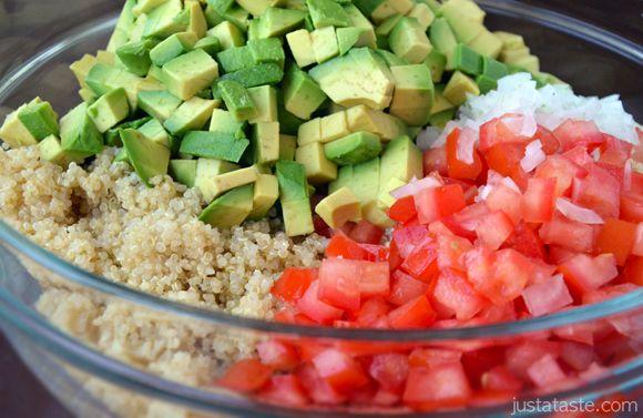 Just a Taste » Quinoa Guacamole Salad