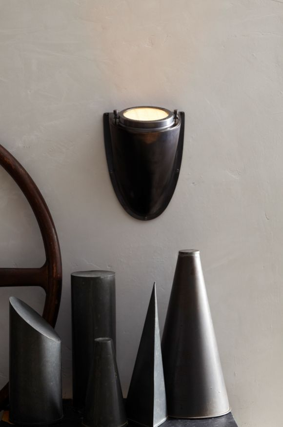 hot list: industrial style lighting | Grant Sconce | shop now: http://www.circalighting.com/search_results.aspx?q=grant