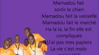 (les taches menageres/les corvees) Magic System - Mamadou paroles HD - YouTube