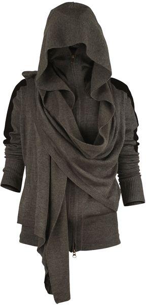 Nicholas K Sw266 Angus Hoody in Gray (art) - Lyst