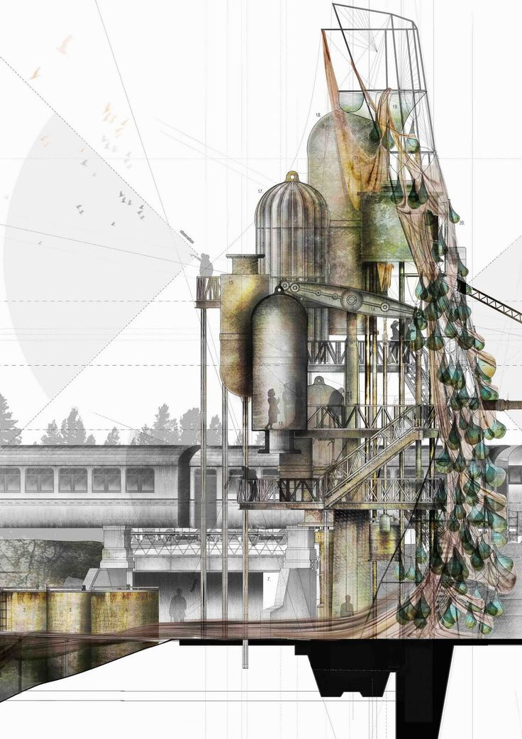 Christopher Christophi and Richard Bailey - Water Pump, The Great Central Railway | Leicester School of Architecture, DMU