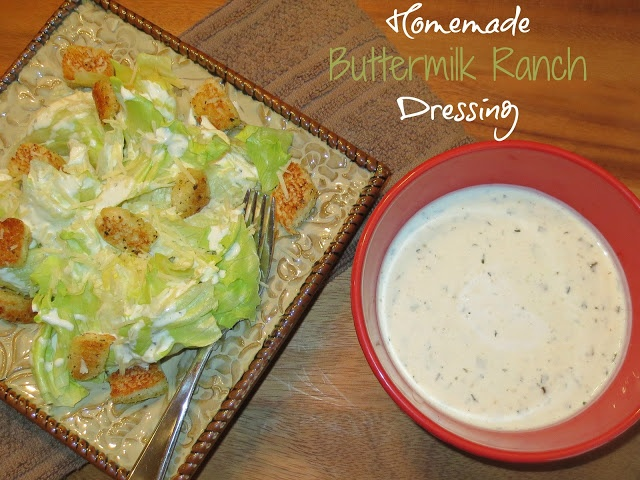 Homemade Buttermilk Ranch Dressing | Kaitlin in the Kitchen - My Food ...