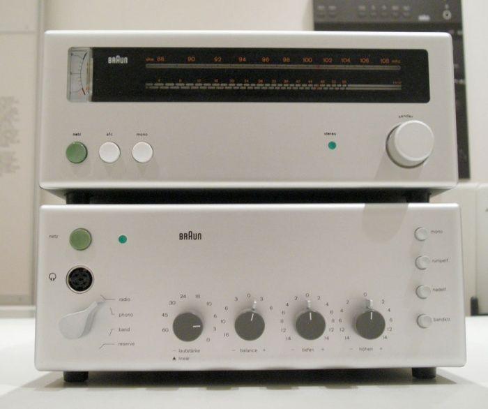 Braun CE 251 (Tuner) Braun CSV 300 (Amplifier)