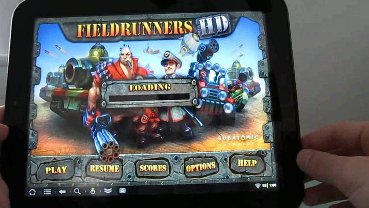 Android games on the HP TouchPad tablet (+playlist)