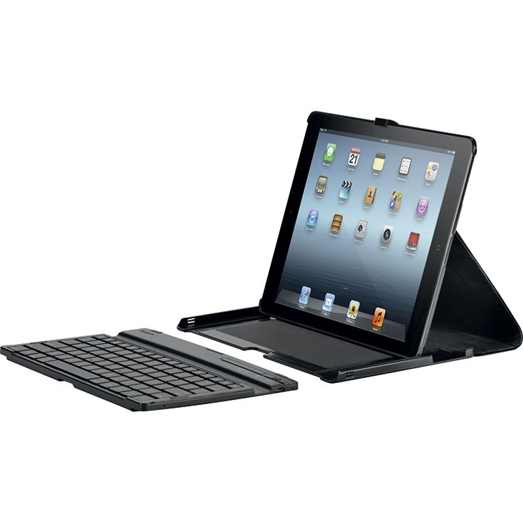 [MOBILITE] Versavu Keyboard : Étui iPad rotatif plat avec clavier pour protéger et optimiser l'utilisation de votre iPad Air Nouveau design rotatif 360° (breveté). Clavier Bluetooth AZERTY amovible (breveté). Angles de vision multiples. Maintien efficacement l'iPad Air en position. Réf. THZ192FR. http://www.exertisbanquemagnetique.fr/info-marque/targus/ #Targus #Etui #iPad #Clavier
