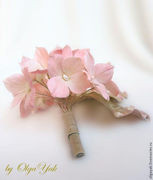 Доставка купить цветы из шифона ручной работы