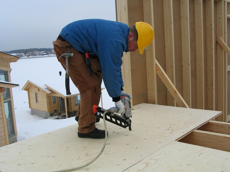 casa in #legno in costruzione
