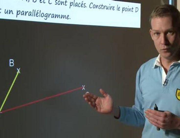 Construire un parallélogramme en utilisant le parallélisme  Un parallélogramme est un quadrilatère dont les côtés opposés sont parallèles deux à deux. Ses diagonales se coupent en leur milieu et les côtés opposés ont la même mesure. A partir de deux côtés consécutifs donnés, on peut construire un parallélogramme en utilisant cette notion de parallélisme entre les côtés opposés : il te faudra une feuille, un crayon et une équerre pour suivre l'exemple de construction donné par Nicolas…