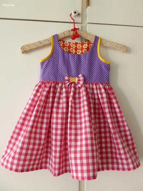 Sommerkjole, Summerdress for a little girl