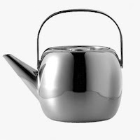 Suomi Steel Water Kettle by Timo Sarpaneva, from OPA. Size 1,7 L. Stainless Steel.
