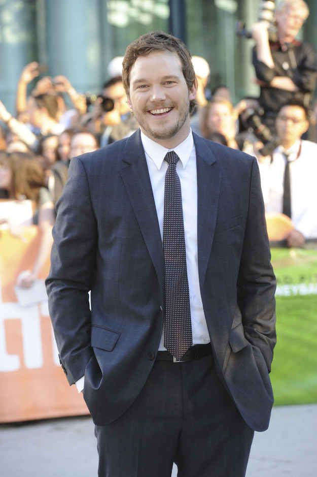 …But chubby Chris Pratt was a total fox of a man mountain.