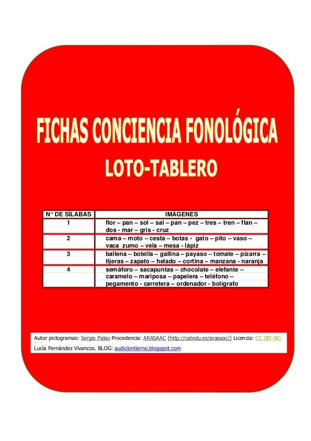 Conciencia fonologica cuadernillo_loto_tarjetas