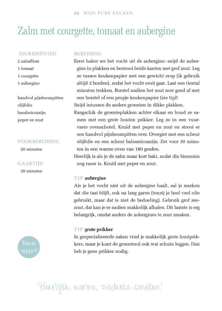Pure Keuken. Volop genieten en toch slank.  Op vrijdag 1 oktober verschijnt in Gazet van Antwerpen een EXCLUSIEF kookboekje van Pascale Naessens.Pascale onthult hierin enkele recepten uit haar succesboek ' Mijn Pure Keuken. Volop genieten en toch slank' en enkele nieuwe herfstrecepten.Deze worden samengebracht in een 36 pagina tellend kookboekje.