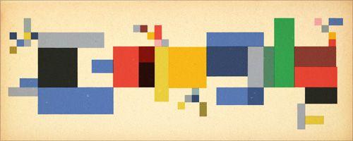 Sophie Taeuber-Arp redonne des couleurs à Google !