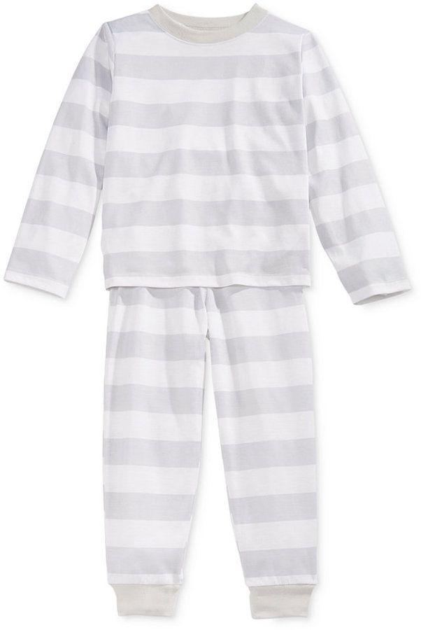Family Pajamas Boys' or Girls' Neo Stripe Knit Pajama Set, Only at Macy's
