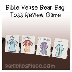 Dorcas Bible Verse Review game