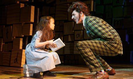 Oona Laurence in Matilda