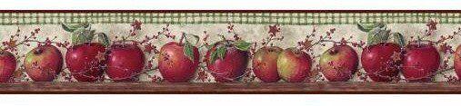 York Just Apples Country Keepsake Wallpaper Border - BH11-089-001-35